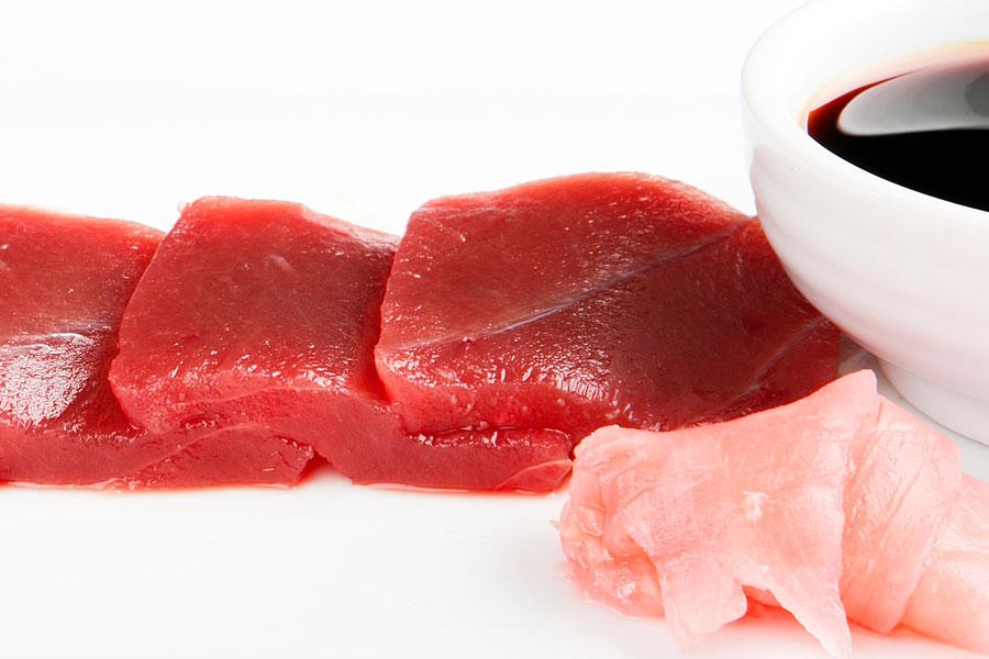 sashimi de Atún rojo de almadraba